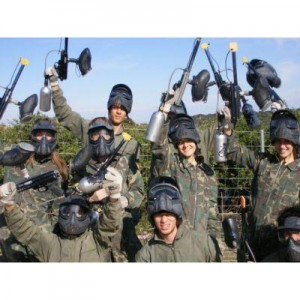 Grupo de paintball en Madrid